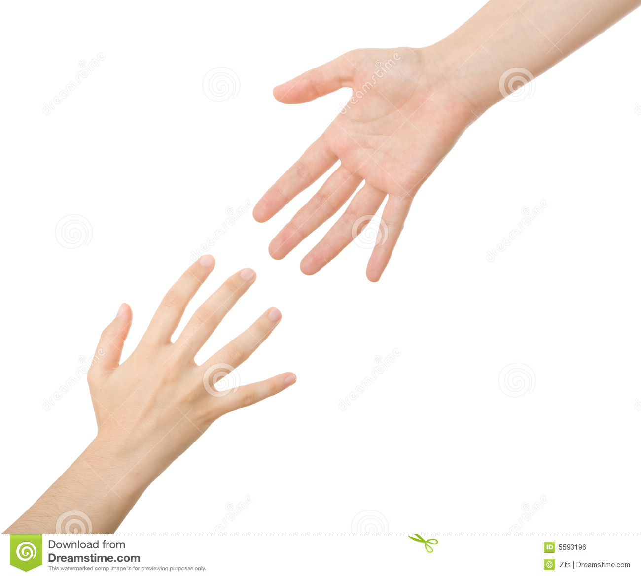 Reaching Hands Clip Art Reaching hands Royalty...