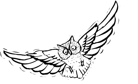 reading20owl20clipart20black20and20white