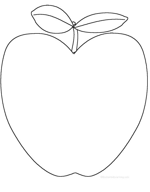 realistic apple tree drawing
