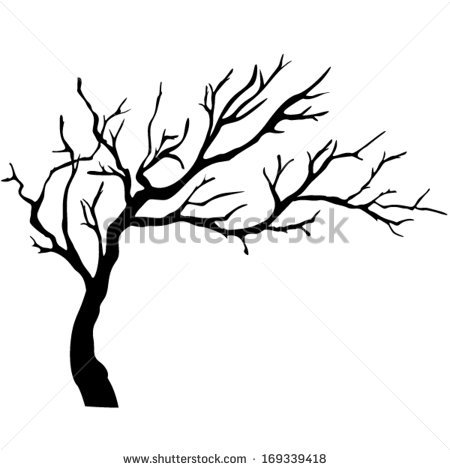 Simple Black And White Tree Branches Clipart Panda Free Clipart