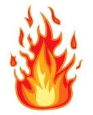 realistic fire flames clipart 18579640 fire flame jpg rh worldartsme com fire flames clip art free fire flame clipart black and white