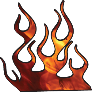 Car With Flames Clipart | Clipart Panda - Free Clipart Images