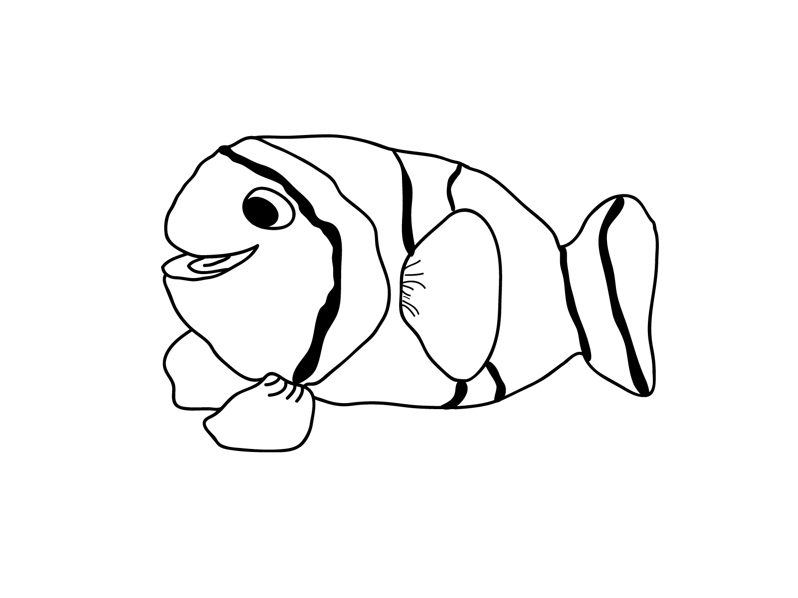 Tropical Fish Pages Realistic Coloring Pages
