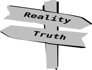 reality is perception the truth about Because no organism can perceive the totality of objective reality, each   hoffman said, is that an organism that can see the truth will never be.