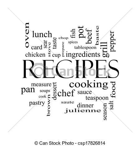word recipes
