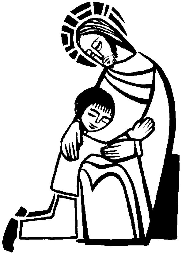 catholic church symbols coloring pages - photo#13