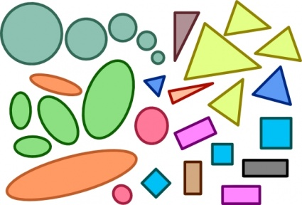 Triangle Shape Clip Art | Clipart Panda - Free Clipart Images
