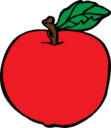 Red Apple Clipart | Clipart Panda - Free Clipart Images