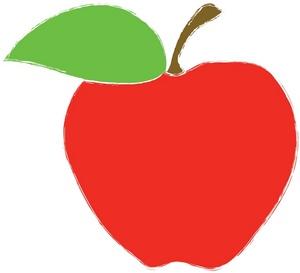 School apple. Clip art clipart panda