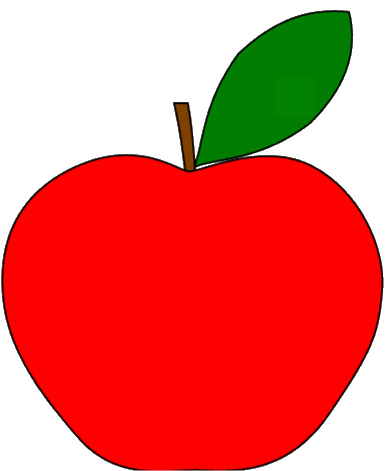 Red Apple Clipart   Clipart Panda - Free Clipart Images