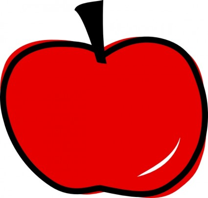 red 20apple 20clipart Red Apple Template