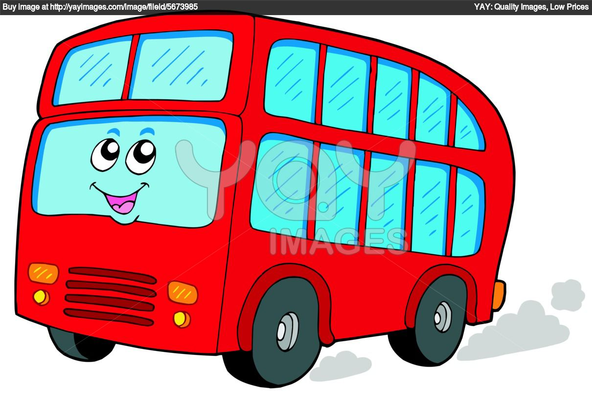 Red bus clipart clipart panda free clipart images for Clipart bus
