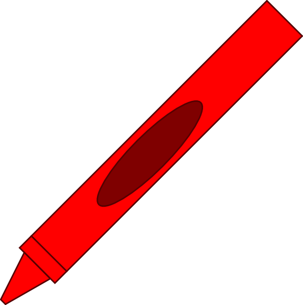 red crayon clip art cliparts Brown Crayon Clip Art red crayon clip art black and white