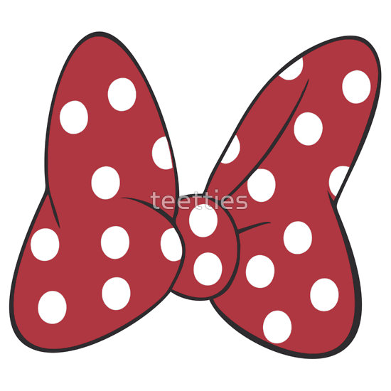 Red Minnie Mouse Bow Clip Art | Clipart Panda - Free Clipart Images