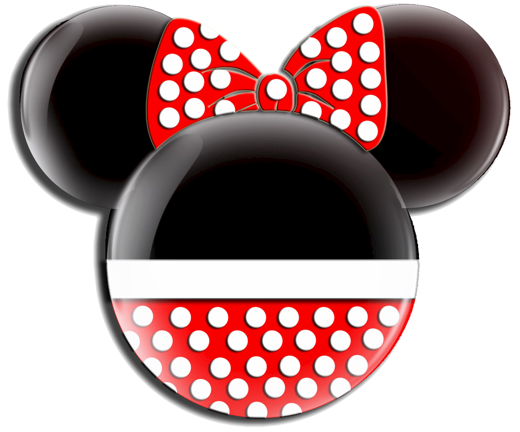 Minnie Red Bow ClipartRed Minnie Mouse Head Clip Art