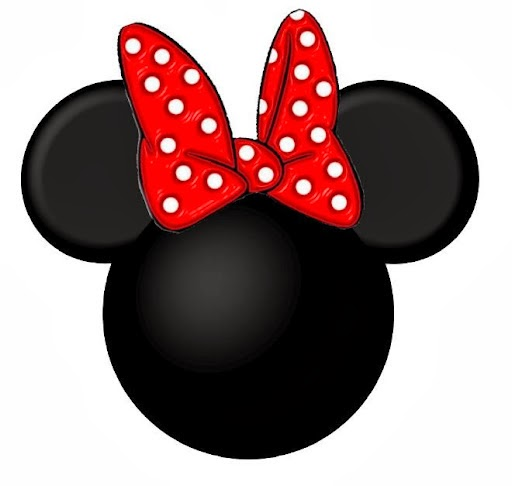 Head and Minnie Mouse Bow