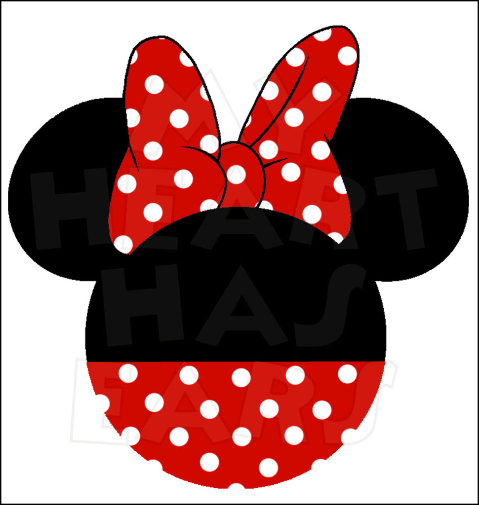 red minnie mouse head clip art clipart panda free. Black Bedroom Furniture Sets. Home Design Ideas
