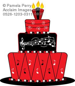 Red Panda Birthday Cake