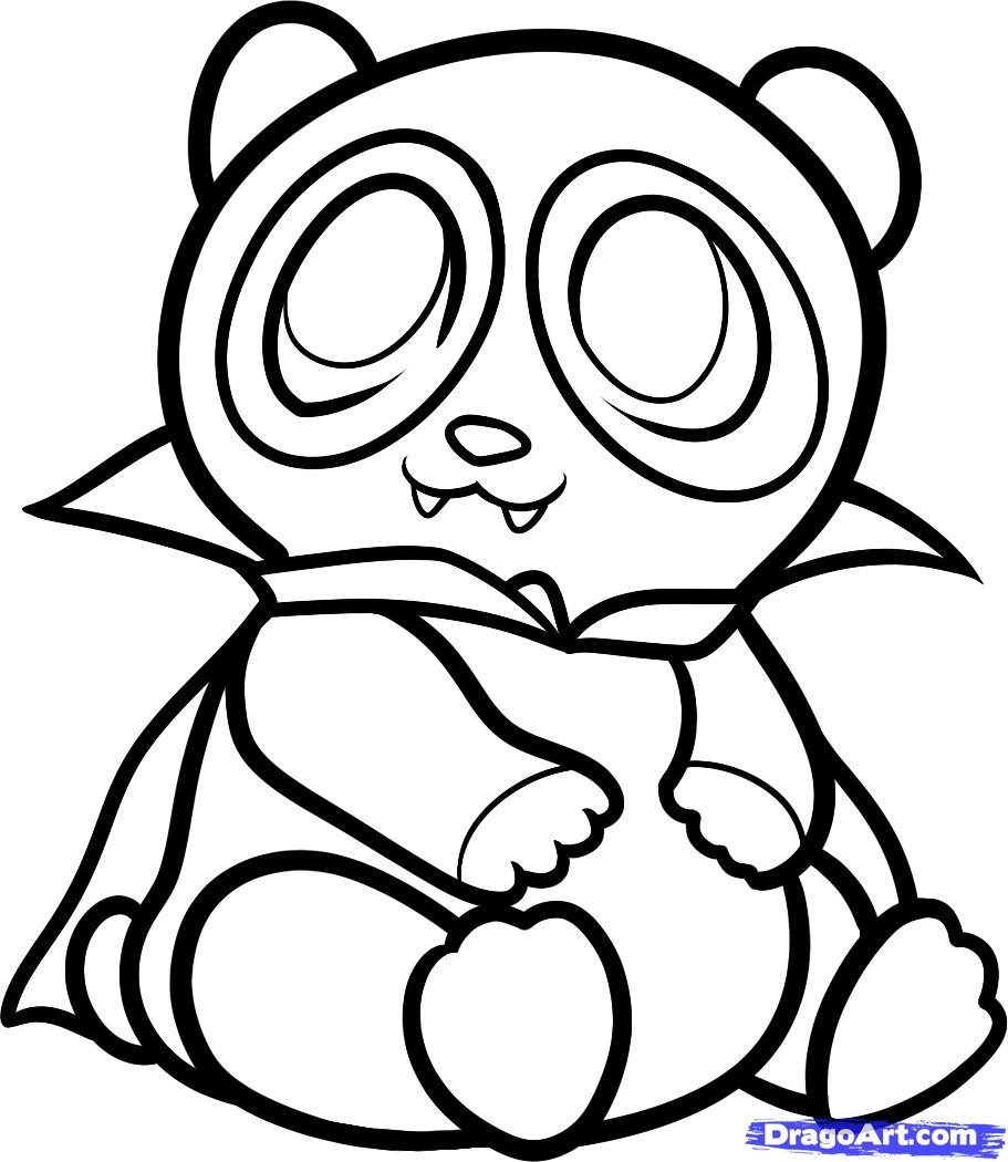 red panda cute coloring pages - photo#19