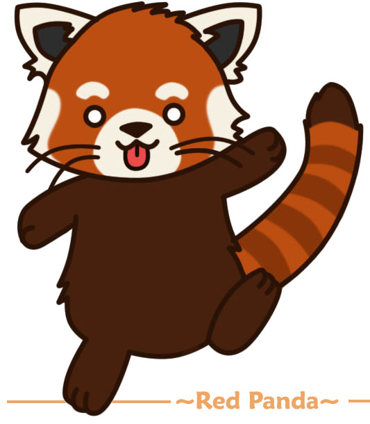Chibi red panda - photo#19