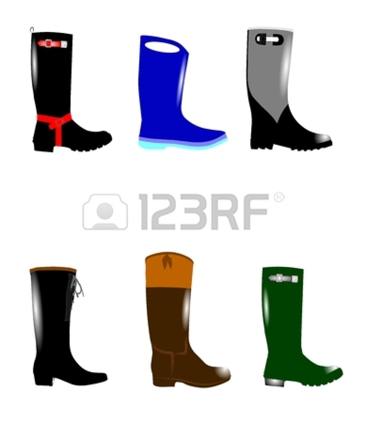 Red Rain Boots Clipart Red Rain Boots Clipart...