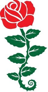 Clip Art Red Rose Clip Art red roses clip art images clipart panda free rose art