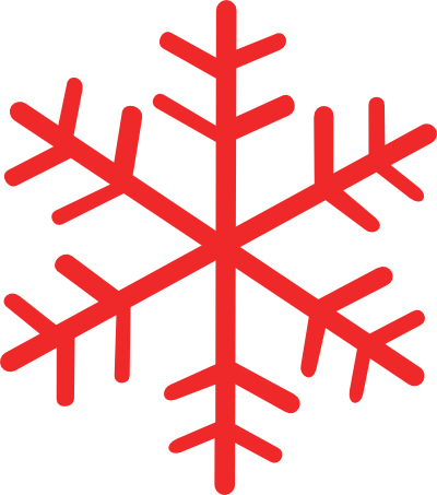 Red Snowflake Clipart | Clipart Panda - Free Clipart Images