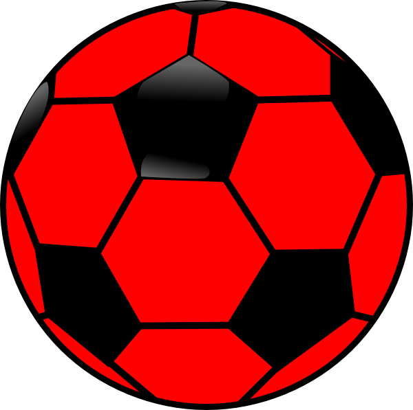 red soccer ball clip art clipart panda free clipart images rh clipartpanda com ball clip art black and white bell clip art