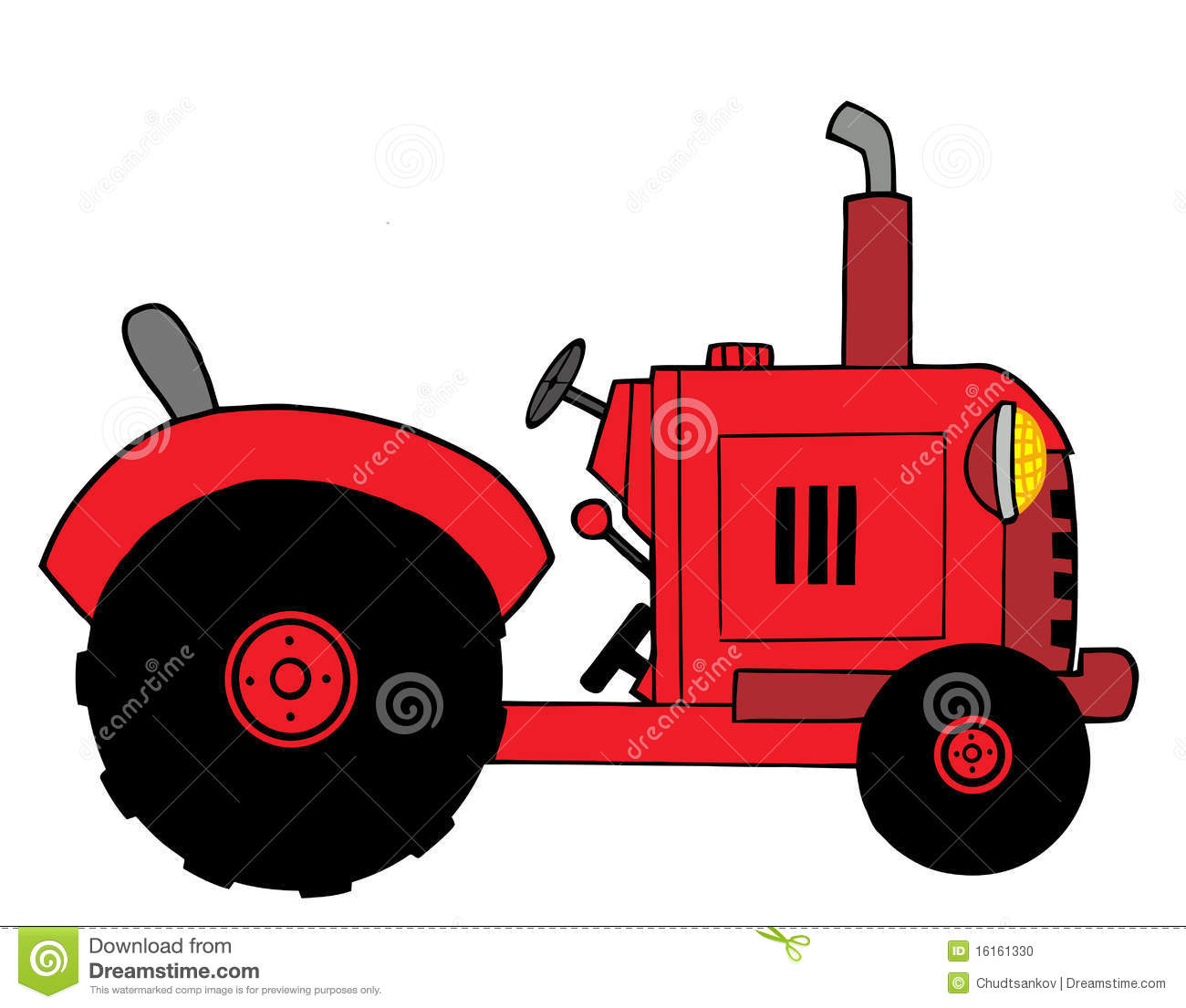 Muddy Tractor Clip Art : A cartoon farmer on tractor pictures to pin pinterest