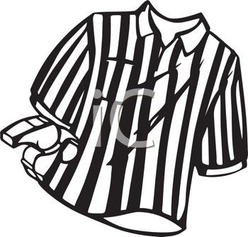 Referee Shirt and Whistle | Clipart Panda - Free Clipart ...