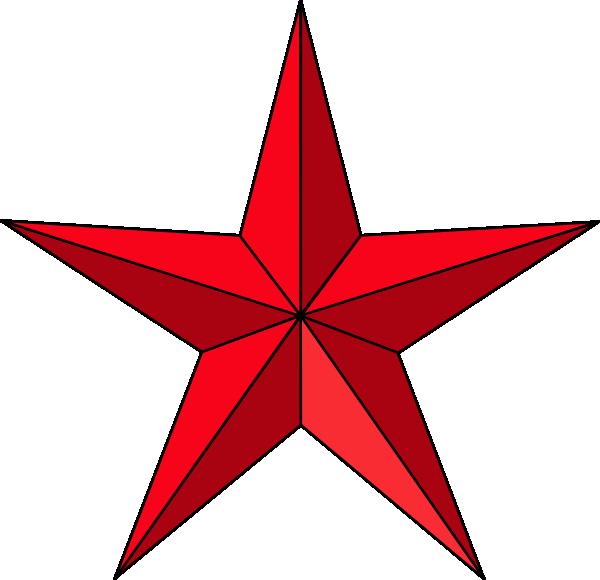 Christmas Star Clip Ar...