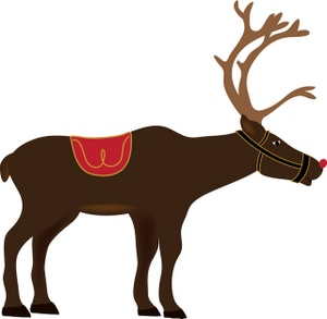 Reindeer Clip Art Christmas Free | Clipart Panda - Free Clipart Images