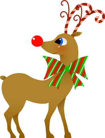 Reindeer Clipart - Synkee