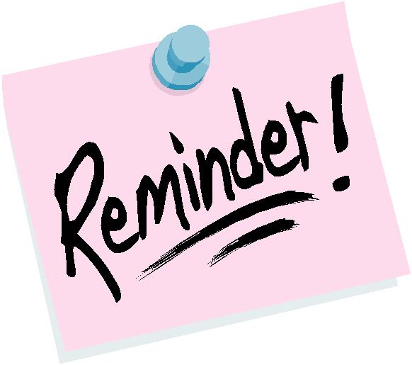 Reminder Clipart | Clipart Panda - Free Clipart Images