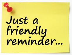Image result for reminders clipart