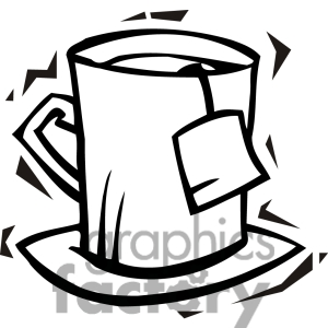 Cup Of Water Clipart Black And White | Clipart Panda - Free Clipart ...
