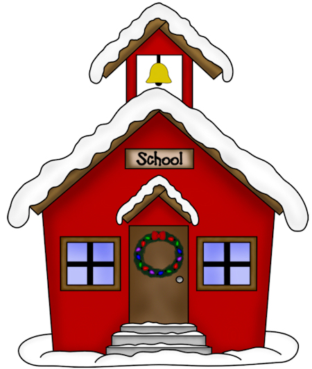 Clip Art Olf Fashion School House