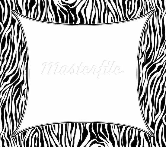 Zebra Print Clip Art Z...