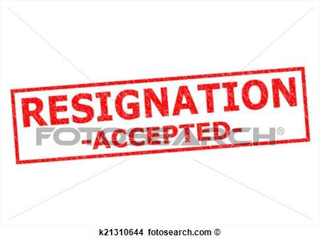 Resign ...