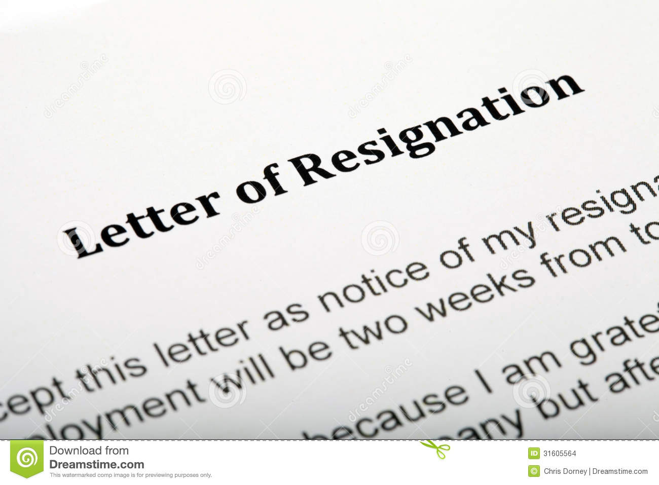 how to turn in a resignation