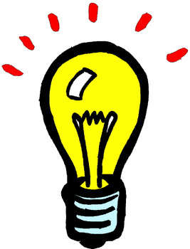 Thinking Light Bulb Clip Art | Clipart Panda - Free Clipart Images