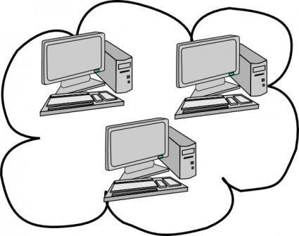 Cloud computing clipart panda free clipart images respondent20clipart ccuart Images