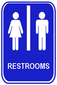 Coed Restrooms Sign Clipart Panda Free Clipart Images