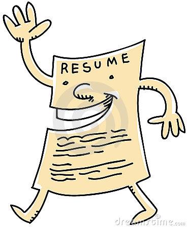 Cartoon Resume | Clipart Panda - Free Clipart Images