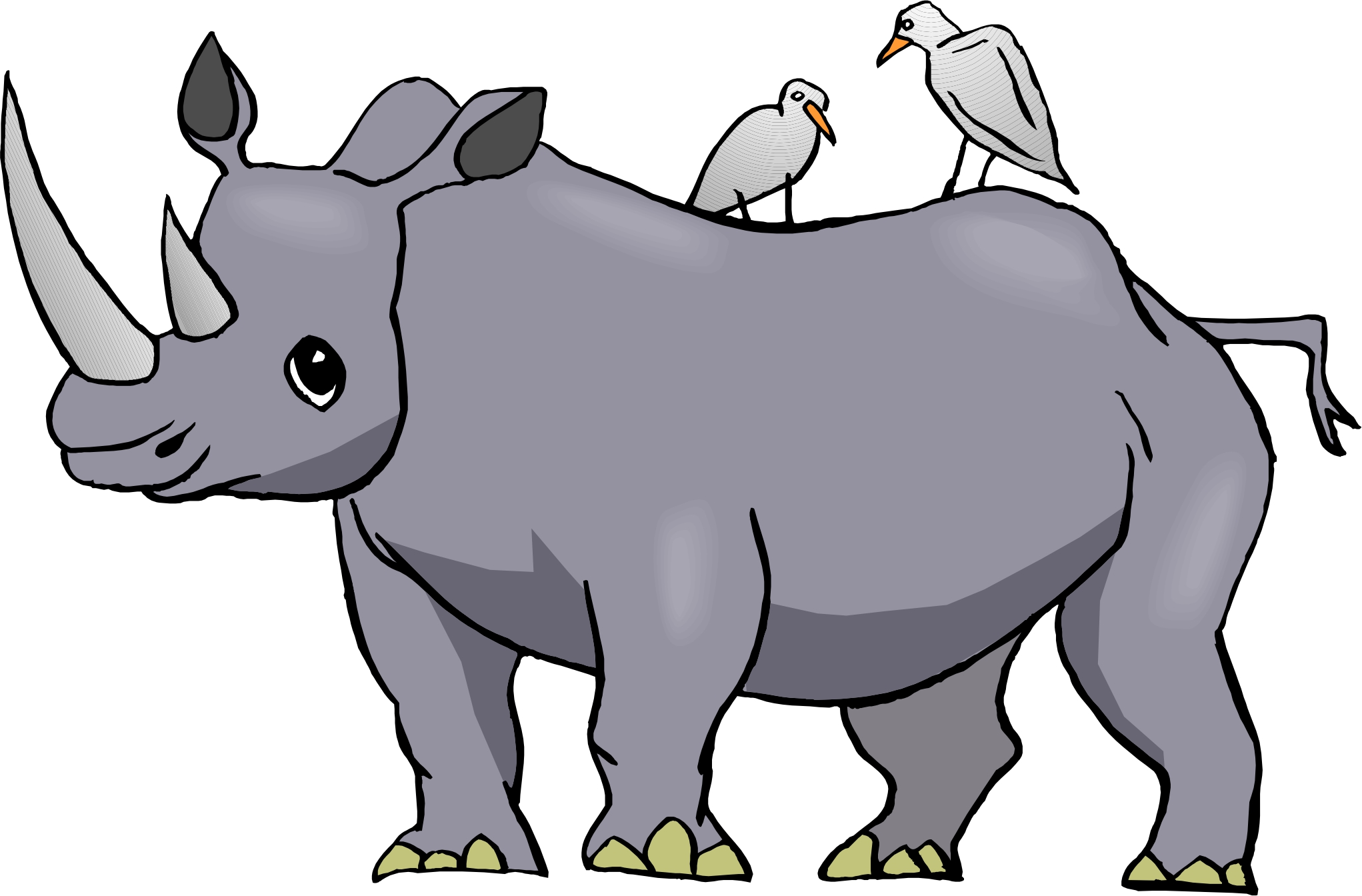 rhinoceros 20clipart clipart panda free clipart images rhino clipart black and white rhino clipart black and white