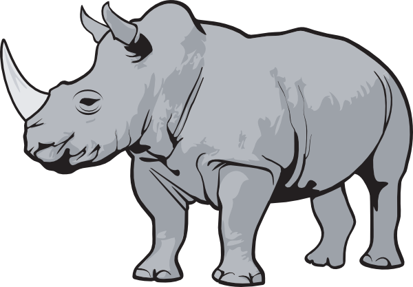 rhinoceros clip art to clipart panda free clipart images rh clipartpanda com rhinoceros clipart rhinoceros clipart black and white