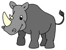 rhino clipart clipart panda free clipart images rh clipartpanda com free clipart rhinoceros rhinoceros clipart