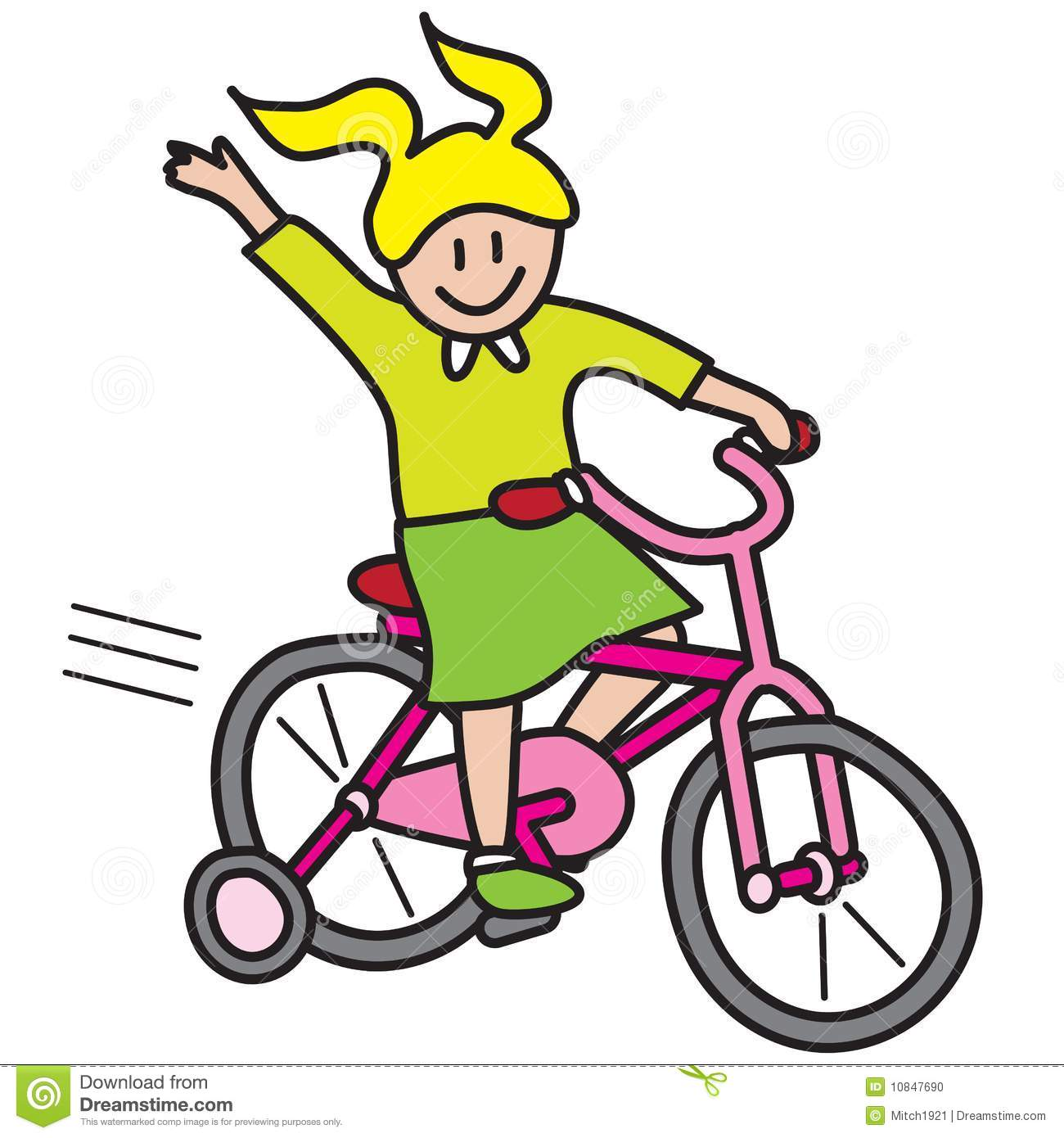 free clip art bike rider - photo #12