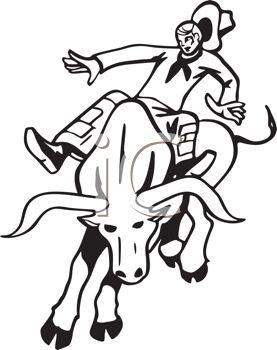Similiar Bull Clip Art Black And White Keywords