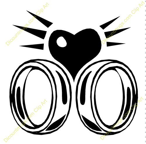 interlocking wedding rings clipart - photo #19